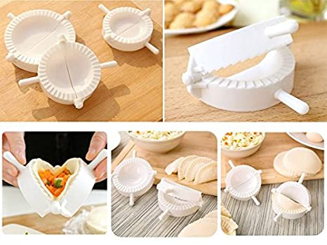 3 moldes para bolas de masa hervida SMARTSTORE, prensa de masa, sellador de pasteles