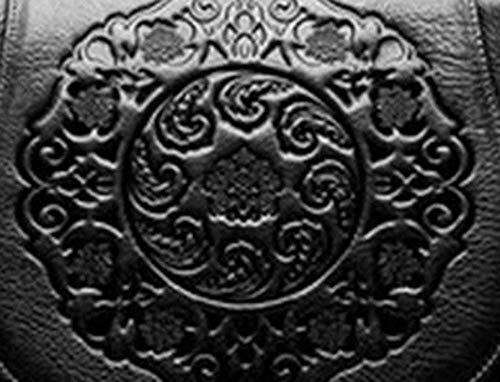 Cabeza abarcan de 11 YT Zurriago realzada Y cm Bandolera Cuero bandoleraCapa Silla Black 27 Retro del Oblicua 22 Bolsos Solo qIadqtxw8