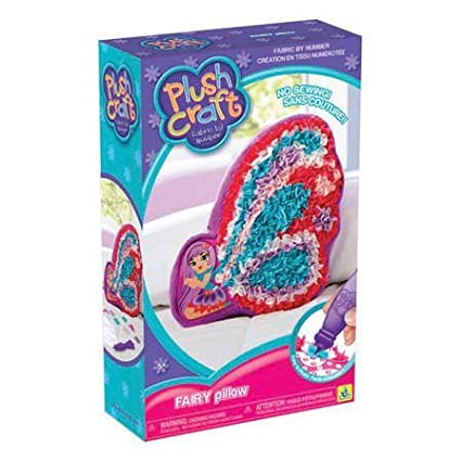 The Orb Factory Plushcraft Fairy Pillow Getting Fit 72469
