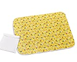"Buy Buy Baby Cribs with Changing Table Changing Pad - Diaper Change Pad Large Size (25.6""x31.5"") - Portable Waterproof Baby Changing Pad for Girls Boys - Multi-function Storage Bag for Travel Changing Mat"