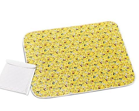 Portable Changing Pad Waterproof Diaper Change Pad Large Size Multi-function Storage Bag Travel Changing - Travel Pad