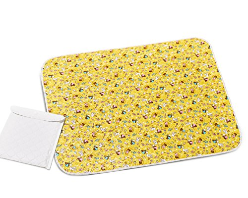"Changing Pad - Diaper Change Pad Large Size (25.6""x31.5"") - Portable Waterproof Baby Changing Pad for Girls Boys Newborn - Multi-function Storage Bag for Travel Changing Mat"