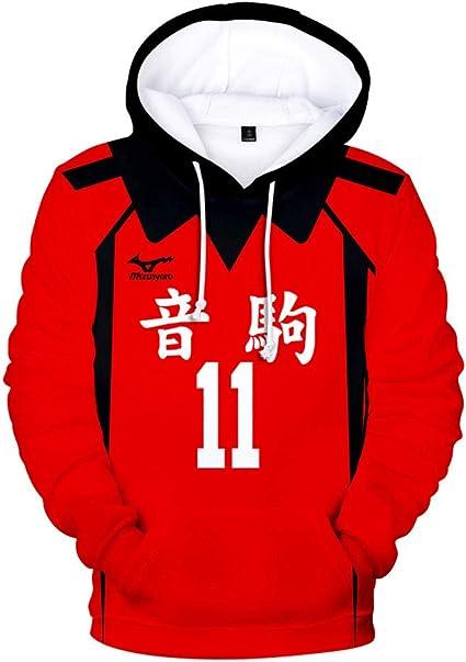 prettycos Disfraz unisex de anime Kuroo Tetsurou para disfraz de Nekoma Valleyball Cosplay