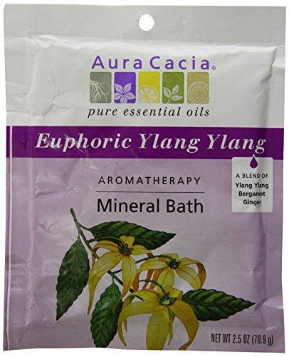 Aura Cacia Aromatherapy Mineral Bath Euphoria, 2.5 Ounce by Aura - Euphoria Mineral Bath Aromatherapy