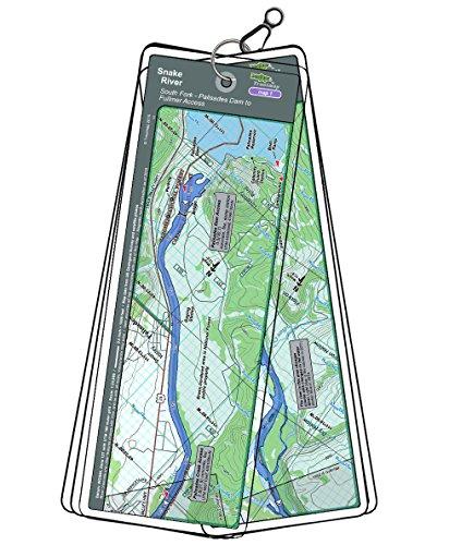 Snake River Map Set - Idaho, South Fork - Palisades Dam to Fullmer -