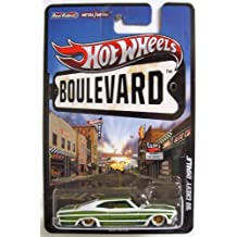 2012 Hot Wheels Boulevard Big Hits '65 CHEVY IMPALA 1:64 Scale Diecast Real Riders