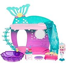 Shopkins 57190 Happy Places Mermaid Reef Retreat Playset with 'Lil Shoppie Mermaid & Surprise Petkin, Multicolor