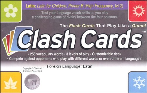 Latin Clash Cards - Latin for Children, Primer B (Latin Edition)
