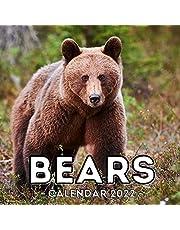 Bears Calendar 2022: 16-Month Calendar, Cute Gift Idea For Bear Lovers Women & Men