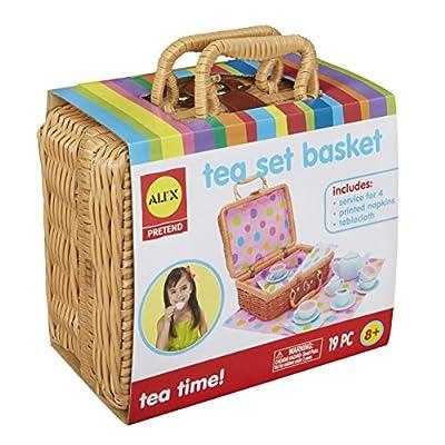 Alex Toys Tea Set Basket by Alex