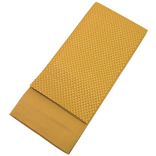 Gold Japanese Kimono (KYOETSU Men's Japanese Kaku Obi Kimono belt Random patterns (Gold))