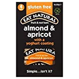 Eat Natural Gluten Free Almonds Apricots & Yoghurt Bars 4 x 35g - Pack of 6