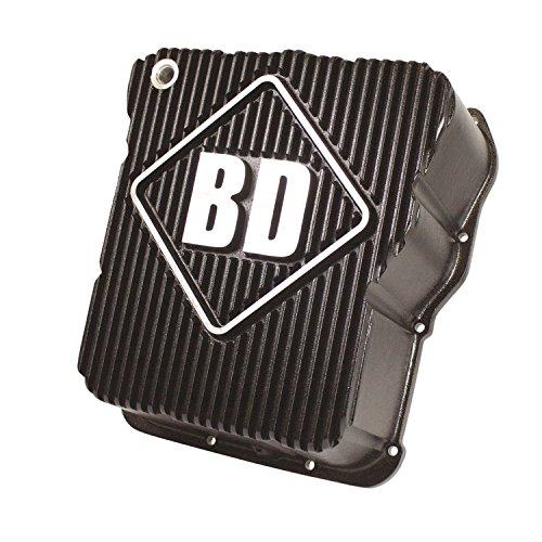 BD Diesel 1061650 Deep Sump Transmission Pan Incl. Pan/Temp Sensor Port Plug/Magnetic Drain Plug/Pan O-Ring/Deep Filter/Hardware Deep Sump Transmission Pan