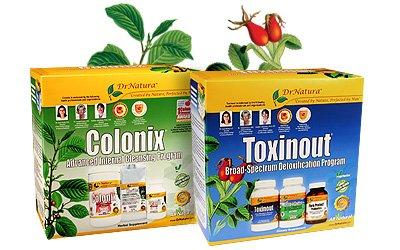 Colonix et  Programme 30 jours 1 boite de chaque