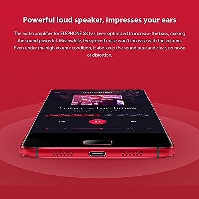Elephone S8 4G Smartphone 6,0 pulgadas de pantalla completa y 2K ...