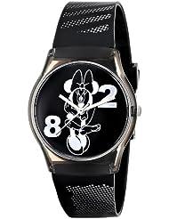 Ingersoll Womens IND25807 Minnie Wrist Art Analog Display Quartz Black Watch