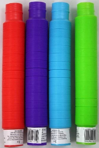 Colors May Vary Pop Toob Set of Six by Poof Slinky