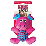 Cheap KONG Weave Knots Pig Cuddly Knotted Rope Bellies Interactive Dog Toy, Medium