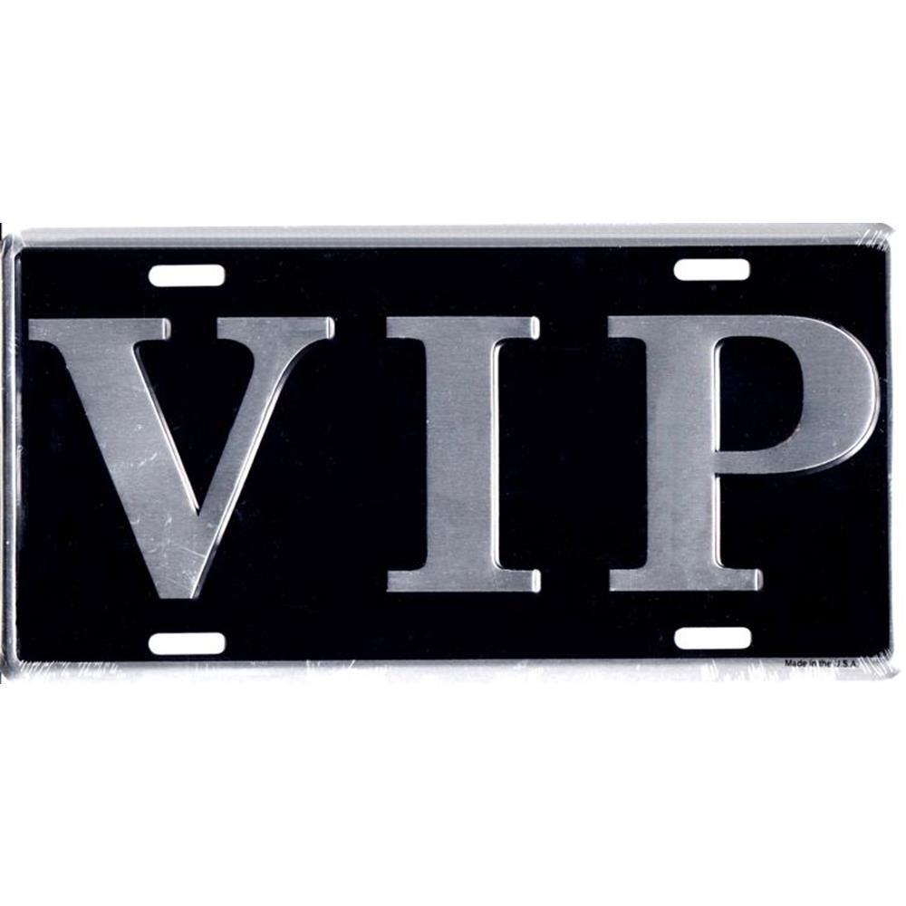 Signs 4 Fun SL996 Vip License Plate