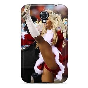 WQmlk11492LJkXP Case Cover Kansas City Chiefs Cheerleaders Team S Galaxy S4 Protective Case
