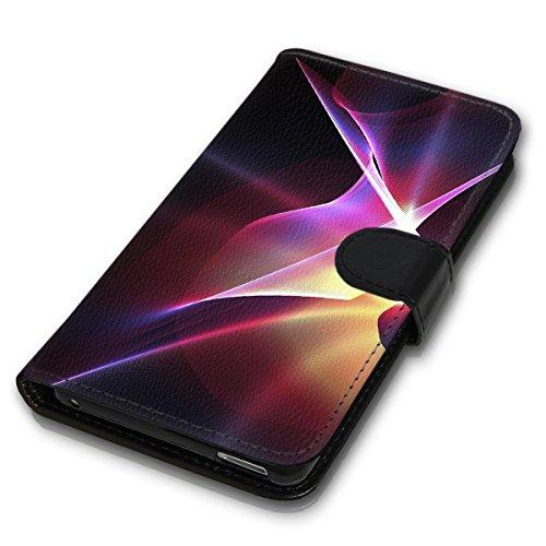 Wallet Book Style Flip Handy Tasche Case Schutz Hülle Schale Motiv Etui für Apple iPhone 5 / 5S - Design Flip MV290
