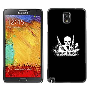 GagaDesign Phone Accessories: Hard Case Cover for Samsung Galaxy Note 3 - Therapy Session Demented Beats