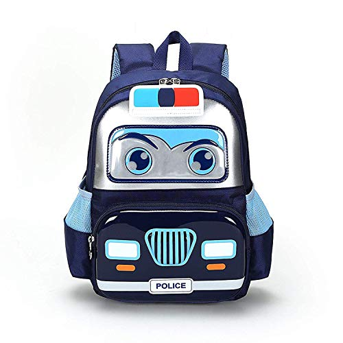 Kids Toddler backpack 3D Cartoon Large School Bag Lightweight Washable Waterproof Preschool Kindergarten Elementary Bookbags Unisex Travel Snack Nursery Daypack for Boys Girls Children