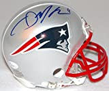 Julian Edelman Autographed Signed New England Patriots Mini Helmet Certified With COA & Hologram