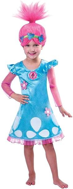 Amscan Niños Disfraz Trolls Poppy – 3 – 4 años: Amazon.es: Ropa ...