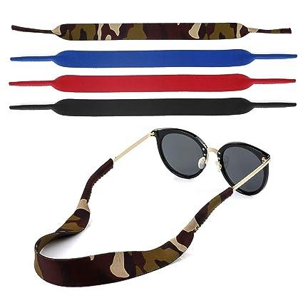 Gafas para gafas y gafas de lectura, gafas de esquí. Gafas. Gafas. Anteojos. Cadena de gafas. Cadena de gafas. Neopreno. Correa para gafas. Elástico 4 ...