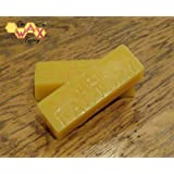 Wax Factory Branded Beeswax Blocks -1 Kilogram - Candles/Cosmetics/Polishes by The Wax Factory