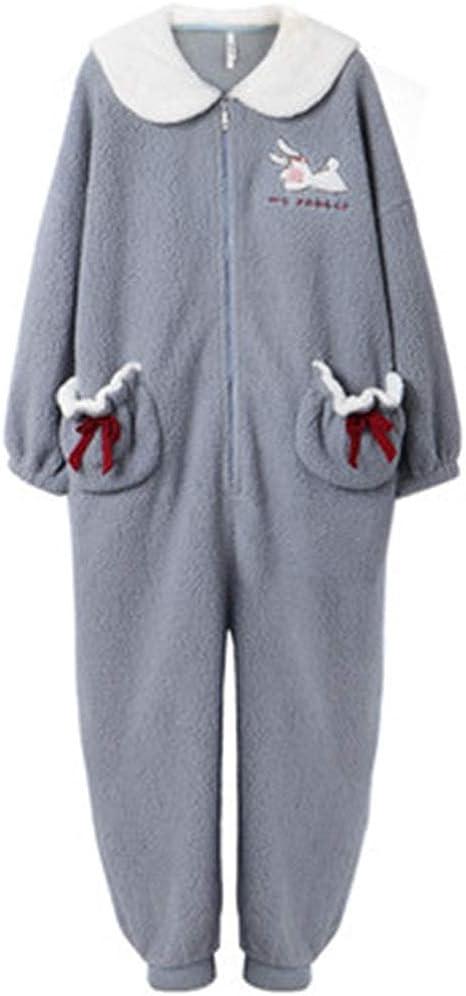 InChengGouFouX Pijamas de Microfibra para Mujer Cordero ...