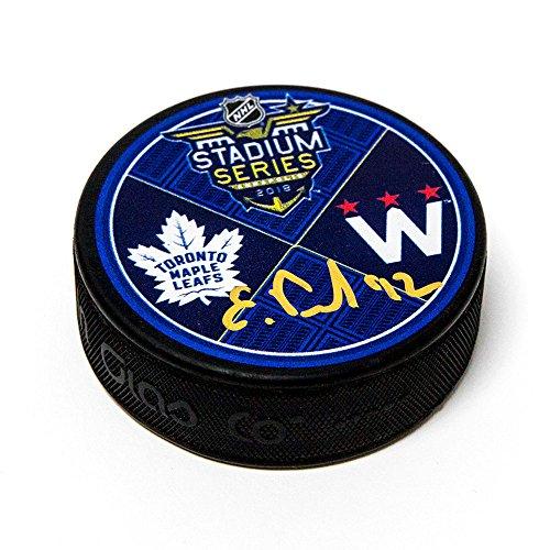 AJ Sports World Evgeny Kuznetsov Washington Capitals Autographed 2018 Stadium Series Hockey - Series Washington Capitals Player