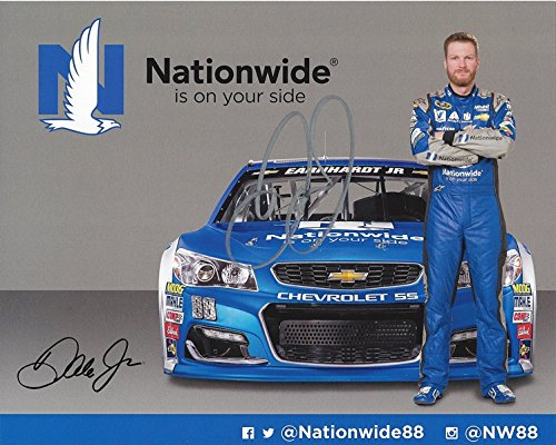 Nascar Racing Collectibles - AUTOGRAPHED 2016 Dale Earnhardt Jr. #88 Nationwide Racing Team (Hendrick Motorsports) Sprint Cup Series Signed Collectible Picture NASCAR 8X10 Inch Hero Card Photo with COA