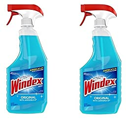 Windex Cleaners, Blue, 26 fl. oz. 2 Count