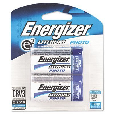 Energizer CRV3 2 Pack Lithium Photo Batteries