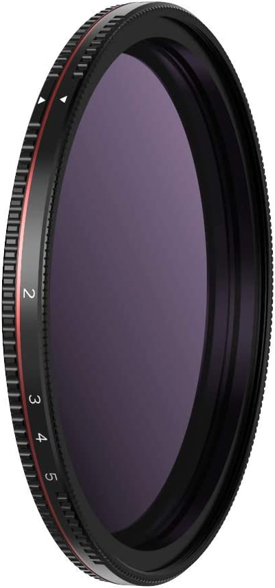 Freewell 82mm Threaded Hard Stop Variable ND Filter Standard Day 2 to 5 Stop