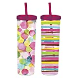 Cheap Sunshine 16 oz. Skinny Tumbler (Set of 2)