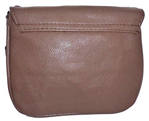 Schultertasche Handtasche Umhängetasche Abendtasche Damentasche braun