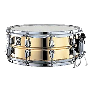 yamaha sd 4455 metal snare series 14 inch snare drum brass musical instruments. Black Bedroom Furniture Sets. Home Design Ideas