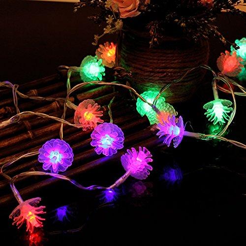 pine cone garden lights - 4