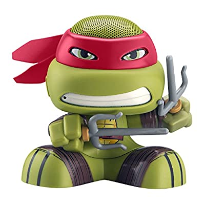 Nickelodeon iHome Teenage Mutant Ninja Turtles Portable Wireless Bluetooth Speaker Raphael