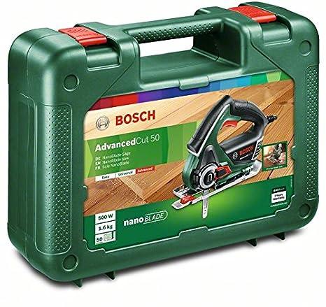 Bosch Säge AdvancedCut 50 (500 Watt, NanoBlade Technologie, im ...