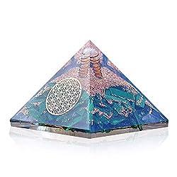 Orgonite Crystal Malachite Pyramid