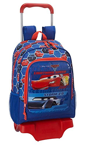 nbsp;with Cars Cars Backpack SAFTA 3 Official Trolley 3 School XrYwqX
