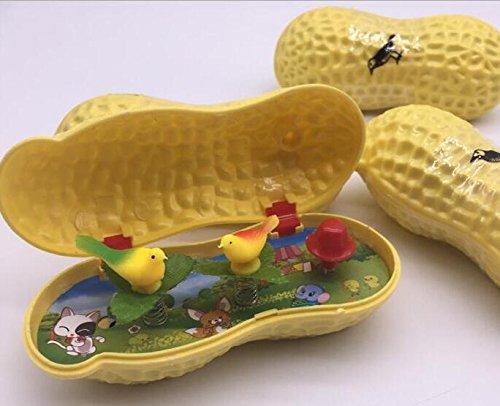 早い者勝ち Junsonピーナッツ音楽ボックス鳥おもちゃ子供の楽しいおもちゃ B07BP6BTSP, 港区:9554585a --- arcego.dominiotemporario.com