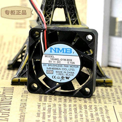 4010 Original FOR NMB Heat Dissipation Fan 1604KL-01W-B39 5V 0.10A 3-wire Speed Measurement