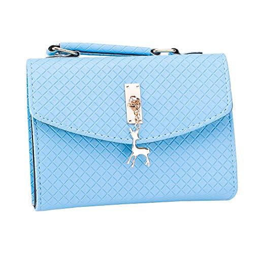 Petit Pendentif Pour Diagonal Bleu Losange sac Wenquan Dame Bandoulière Ciel Main Unique À Sac qEXcI