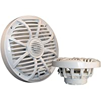 Wet Sounds SW Series White Closed Grill 6.5 Speakers 120 Watt Peak Power.