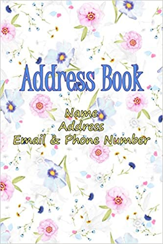 Address Book, Name, Address, Email & Phone Number.: For Girl : Keep all  your Friend address information.: Yee, Yew: 9781703347371: Books - Amazon.ca